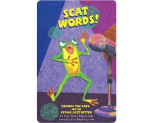 600X 484 Jazz Kitten Flash Card Set (1)