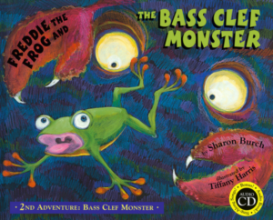 Book 2: Freddie the Frog® and the Bass Clef Monster