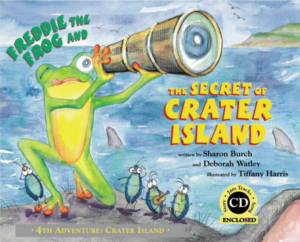 Book 4: Freddie the Frog® and the Secret of Crater Island